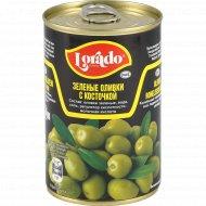 Оливки зеленые «Lorado» с косточкой, 300 г.