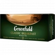 Чай черный «Greenfield» Classic Breakfast, 25х2 г