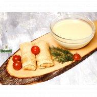 Полуфабрикат «Тесто для блинчиков мясных» 900  г.