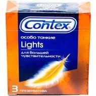 Презервативы «Contex» Lights, особо тонкие, 3 шт