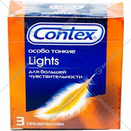 Презерватив «Contex» Lights особо тонкие 3 шт.