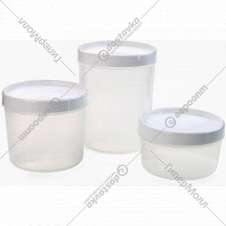 Набор емкостей для сыпучих и СВЧ «Berossi» vandi, ИК48301000.