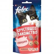 Лакомство хрустящее «Felix» со вкусом говядины, 60 г.
