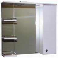 Шкаф навесной «СанитаМебель» Камелия-12.75 Д2, левый