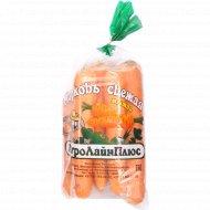 Морковь мытая фасованная, 1 кг., фасовка 1.1-1.2 кг