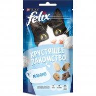 Лакомство хрустящее «Felix» со вкусом молока, 60 г.