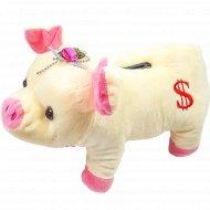 Мягкая игрушка-копилка «Свинка».