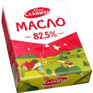 Масло сладкосливочное «Моя Славита» несоленое, 82.5%, 180г