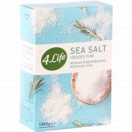 Соль атлантическая морская «4Life» йодированная мелкая, 1 кг.