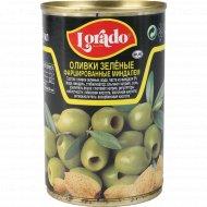 Оливки зеленые «Lorado» фаршированные миндалем, 300 г.