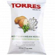 Чипсы картофельные «Torres» с травами, 50 г.