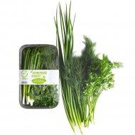 Набор зелени «ЭкоФол» лук, укроп, петрушка, 100 г