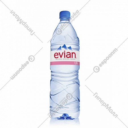 Вода минеральная «Evian» негазированная, 1.5 л.