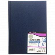 Блокнот для эскизов «Simply» А5 синий, 54 листа.