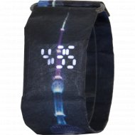 Электронные часы-браслет «Miru» Башня Шанхай.
