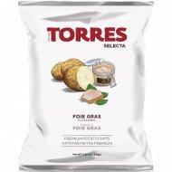 Чипсы картофельные «Torres» со вкусом фуа-гра, 50 г.