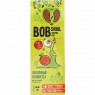 Конфеты «Bob Snail» яблочные, 30 г.