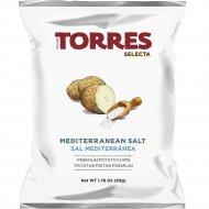 Чипсы картофельные «Torres» с солью, 50 г.