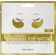 Гидрогелевые патчи «Collagen & Gold Beauu Green» для глаз, 2 шт.