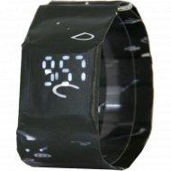 Электронные часы-браслет «Miru» Черный Буквы.
