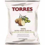 Чипсы картофельные «Torres» на оливковом масле, 50 г.