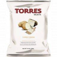 Чипсы картофельные «Torres» со вкусом сыра, 50 г.