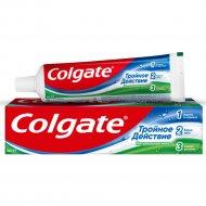 Зубная паста «Colgate» тройное действие, натуральная мята, 100 мл.
