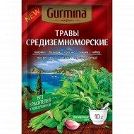 Приправа «Gurmina» средиземноморские травы, 10 г.
