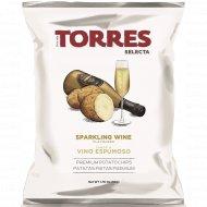 Чипсы картофельные «Torres» со вкусом игристого вина, 50 г.