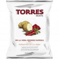 Чипсы картофельные «Torres» с паприкой, 50 г.