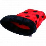 Лежанка-мешок для животных с окантовкой «Горошки» 45х65х25 см.