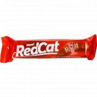 Шоколад молочный «RedCat» с хрустящей вафлей, 40 г.