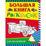 Раскраска «Большая книга раскрасок для мальчиков».