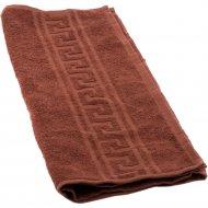 Полотенце «Barakat-Tex» ВТ50-90Г-905, шоколадный, 50х90 см
