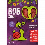 Конфеты яблочно-сливовые «Bob Snail» натуральные, 120 г