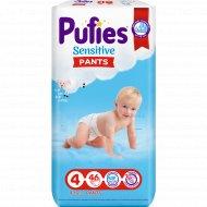 Подгузники-трусики для детей «Pufies» Sensitive Maxi, 9-15 кг, 46 шт.