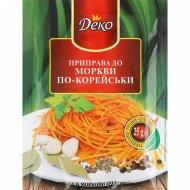 Приправа «Деко» к моркови по-корейски, 25 г.