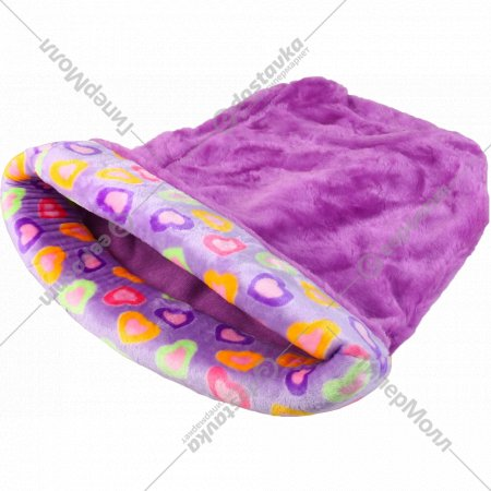 Лежанка-мешок для животных с окантовкой