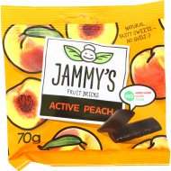 Пастилки «Jammy's» Active peach, 70 г.