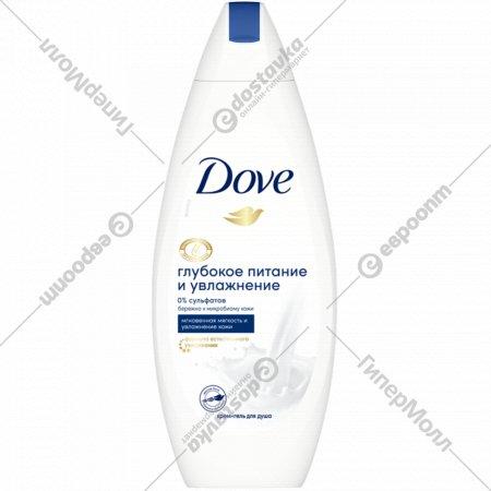 Крем-гель для душа «Dove» глубокое питание и увлажнение 250 мл.