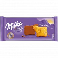 Печенье «Милка» покрытое молочным шоколадом, 200 г.