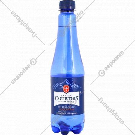 Вода питьевая артезианская «Courtois» газированная, 0.5 л.