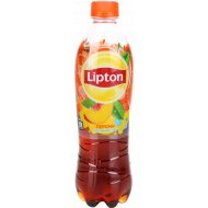 Напиток «Lipton» холодный чай со вкусом персика, 500 мл.