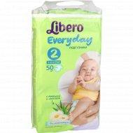 Подгузники «Libero» Everyday 2, 3-6 кг, 50 шт.