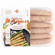 Колбаски «Для гриля с французской горчицей» охлажденные, 380 г.