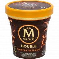 Мороженое «Магнат» дабл, соленая карамель, 10%, 310 г.
