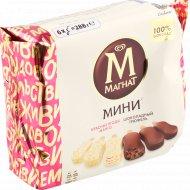 Мороженое «Магнат» шоколадный трюфель, манго-красные ягоды, 288 г.