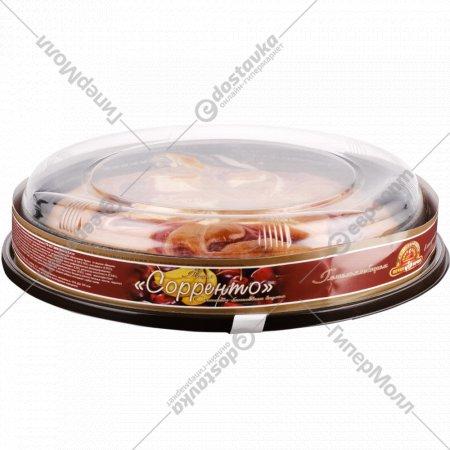 Пирог «Сорренто» с вишнёво-банановым вкусом 0,4 кг.