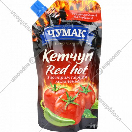 Кетчуп «Чумак» Red Hot, 280 г.