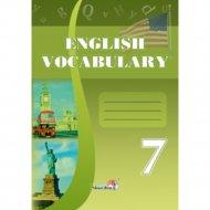 Книга «Словарь по английскому языку. English vocabulary. 7 класс».